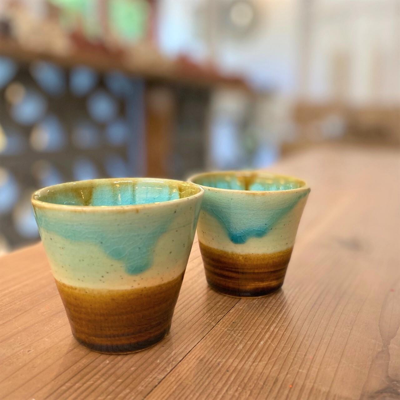 【受注生産商品】『Al mare アルマーレ』43 Pottery  フリーカップ ショート
