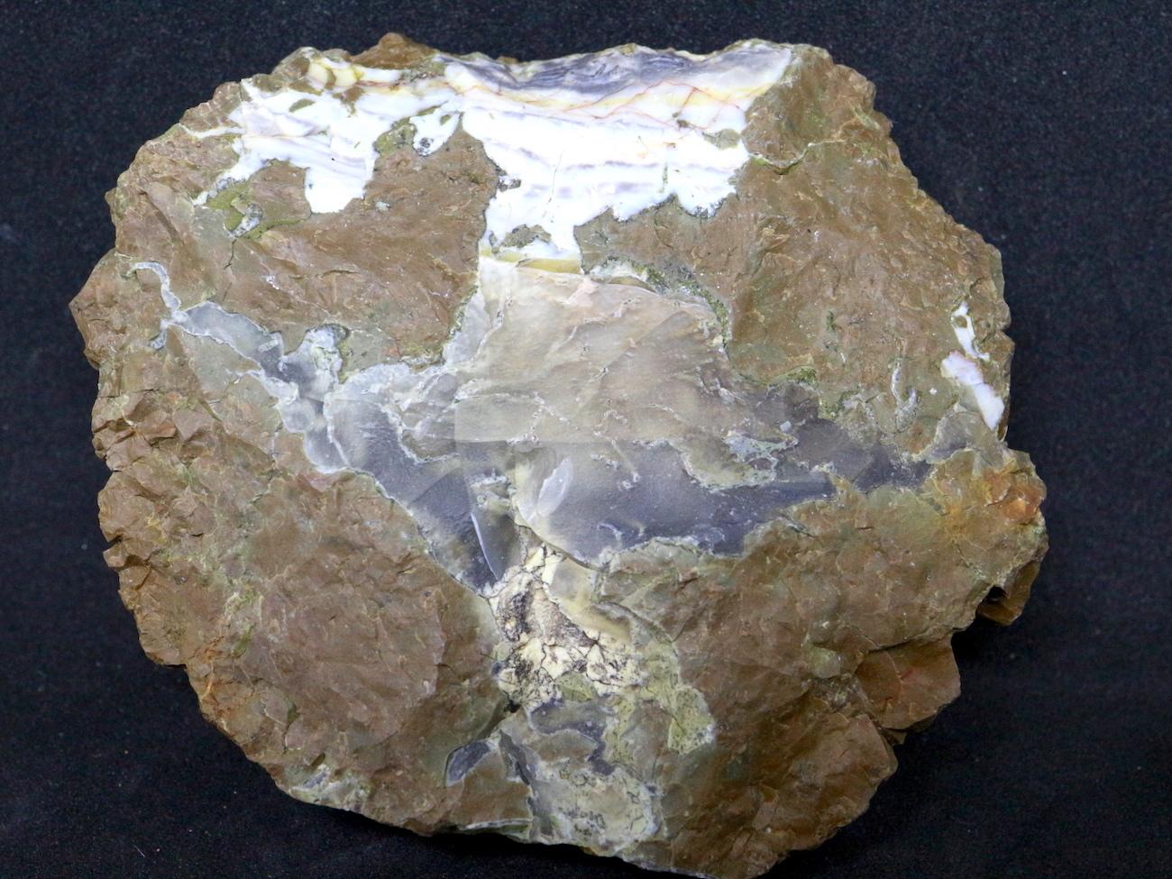 サンダーエッグ オパール 瑪瑙 原石 133,4g THE004