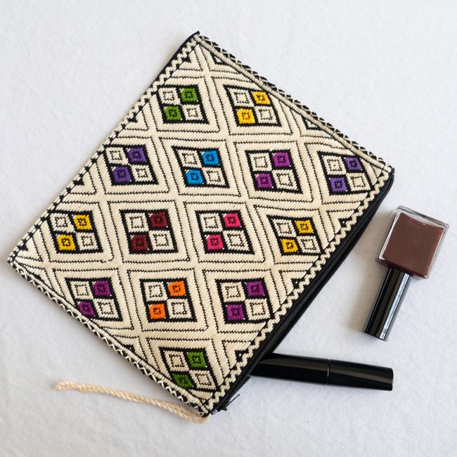 ララインサールの手織りポーチ /227g/ MEXICO メキシコ