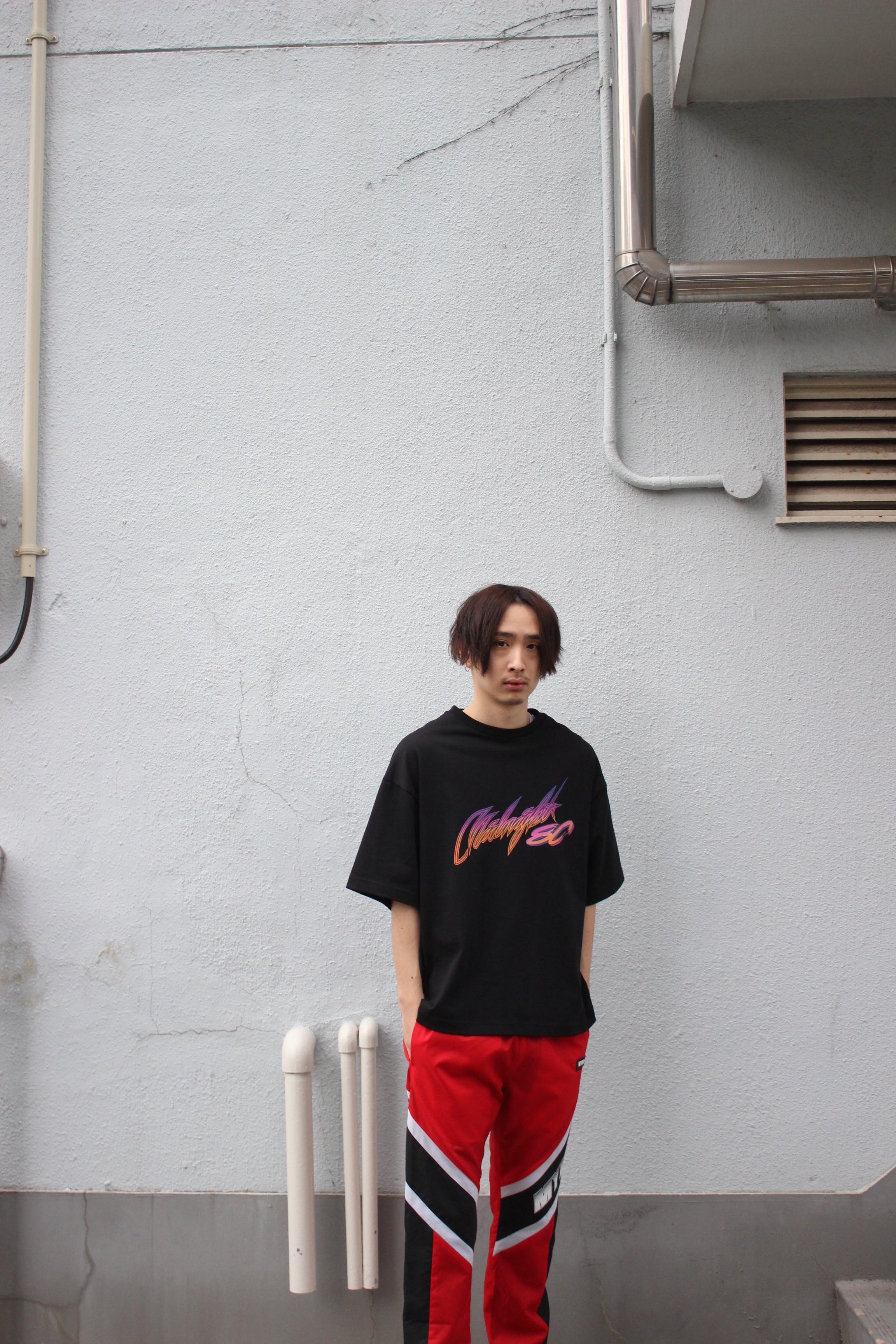 Midnight80 T-shirt / BLACK - 画像2