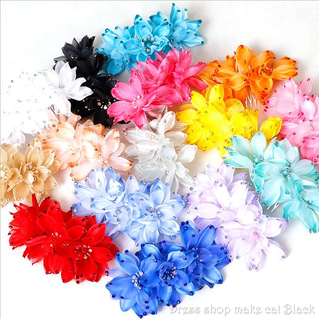 色豊富15色 Angel R TH020 フラワーヘッドアクセサリー¥1,296- (税込) パーティー 髪飾り 二次会 発表会