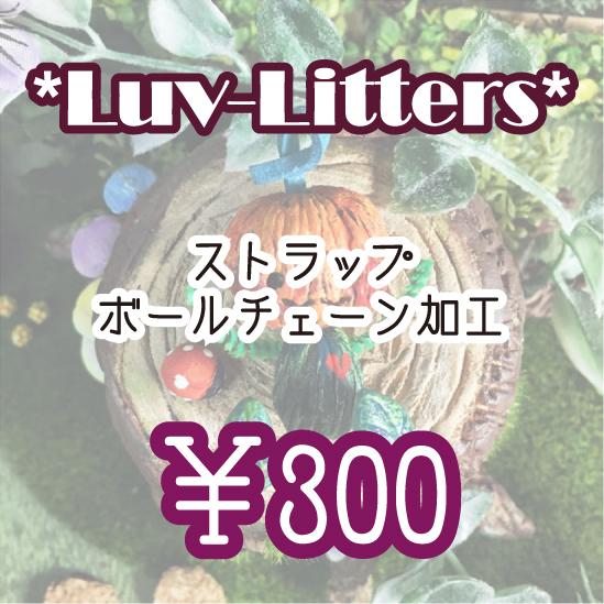 Luv-Littersとお出かけしよう加工