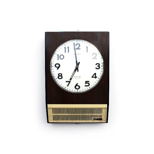 Junk / SEIKO Transistor Clock TTSX-751