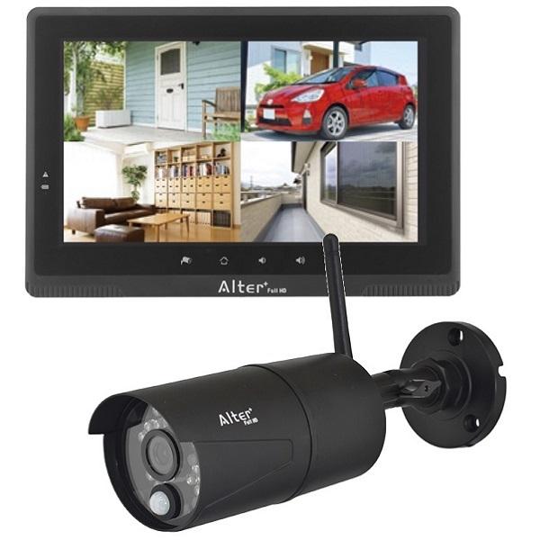 フルHD無線カメラ&10インチモニターセット