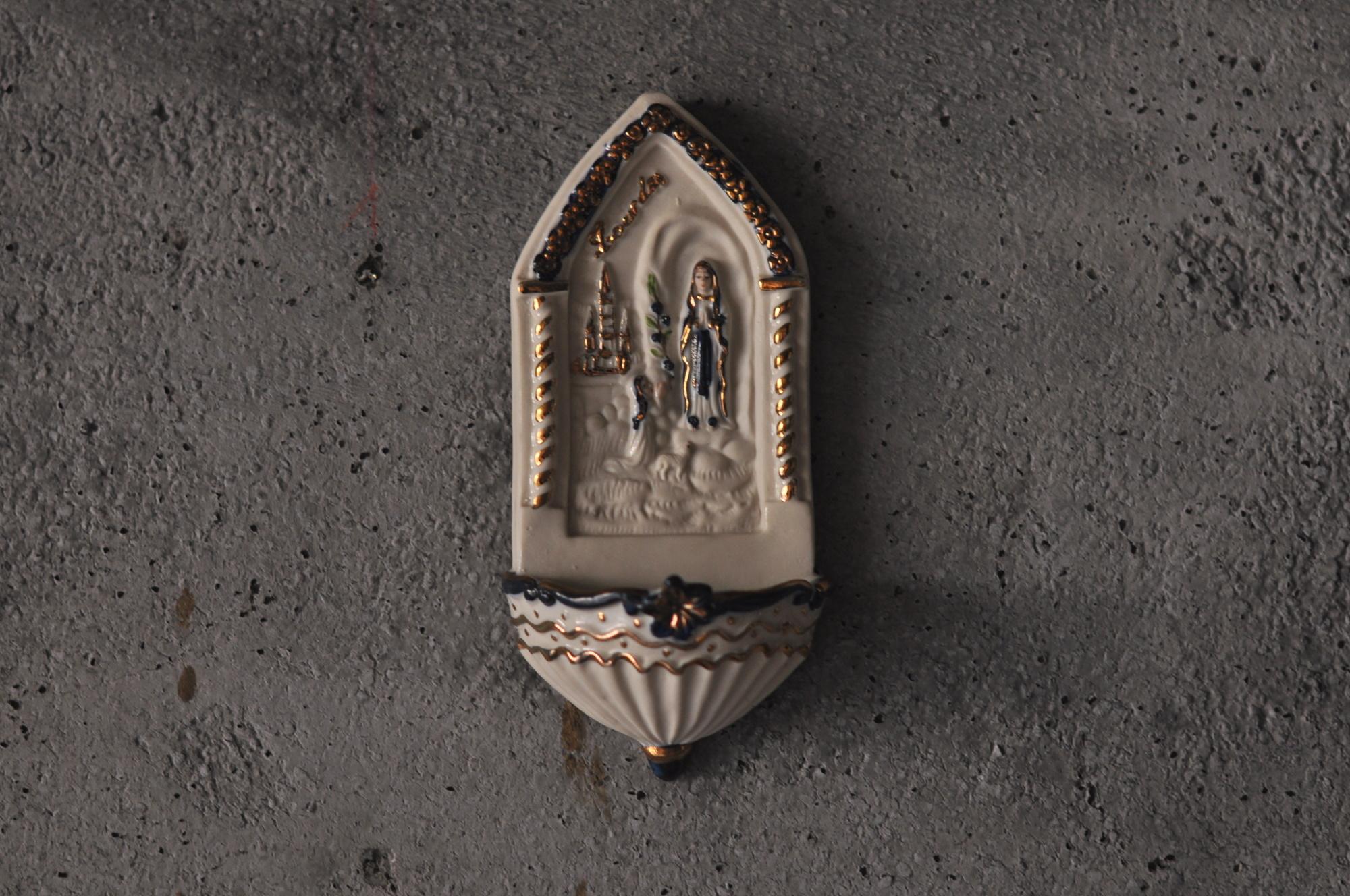 ルルドのマリア聖水盤1