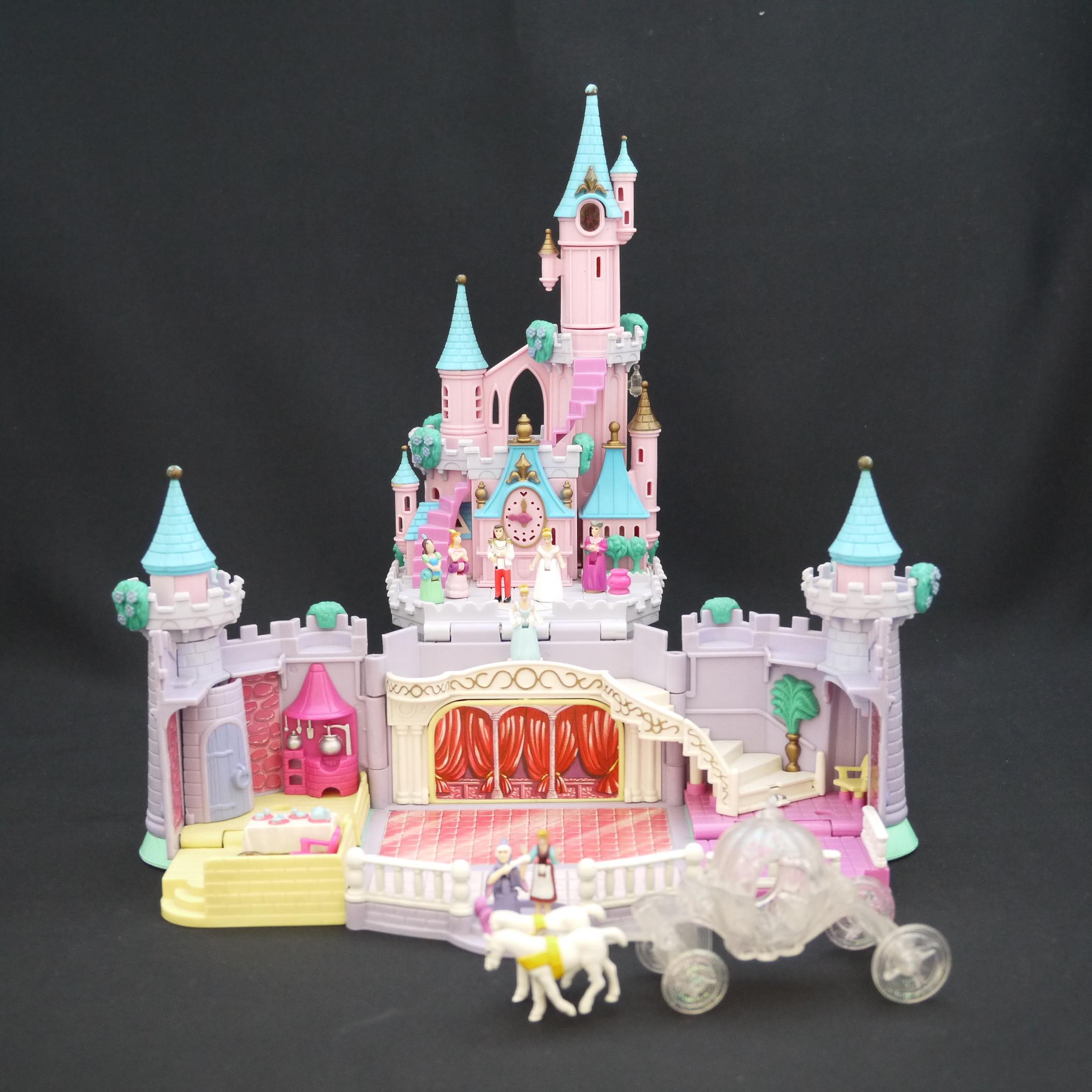 ポーリーポケット ディズニー ライトアップシンデレラ城 完品