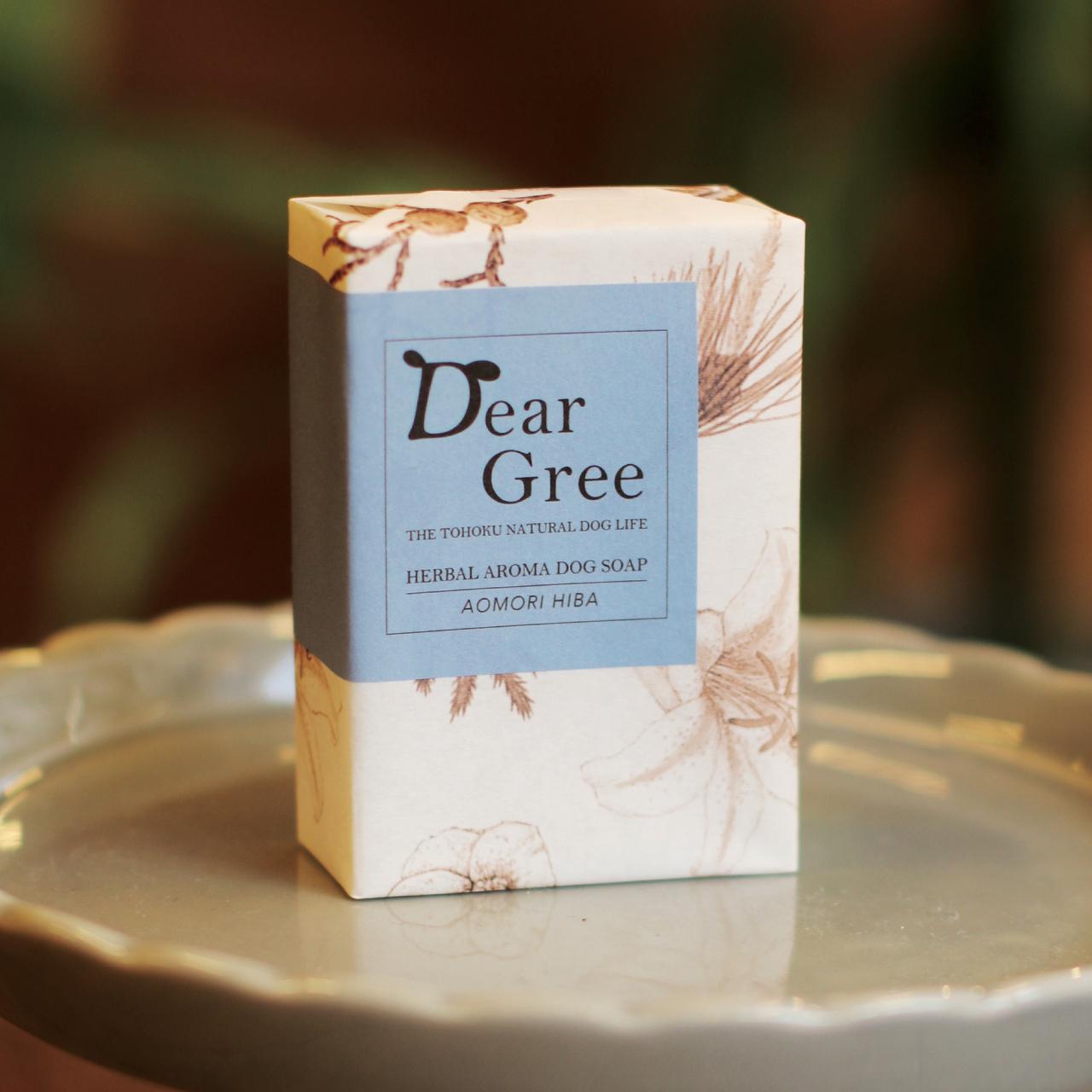 《Dear Gree》ハーバルアロマドッグソープ Lサイズ(120g)