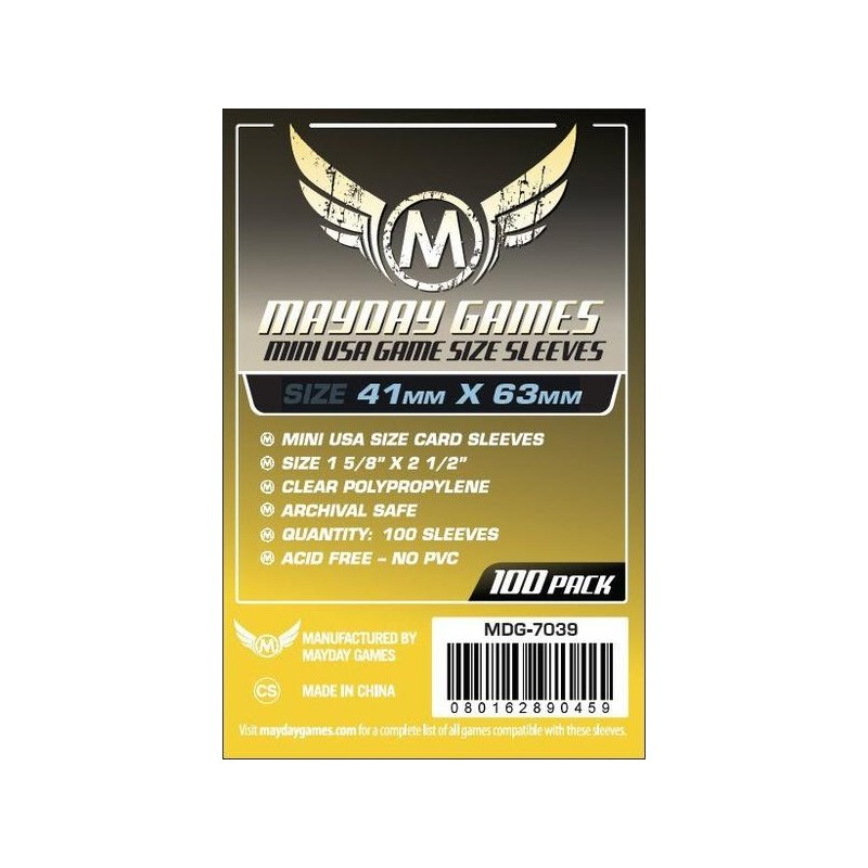 (41x63mm) Mayday カードスリーブ MDG-7039