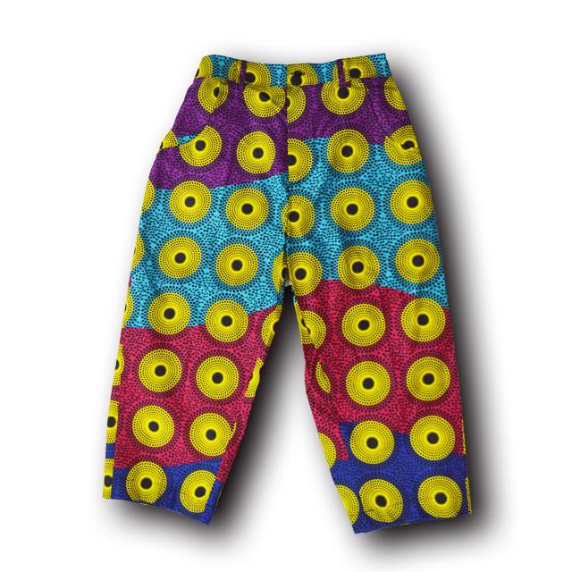 アフリカ柄ズボン(男性L)3