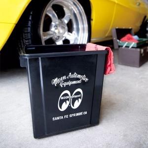 MOONEYES/ムーンアイズ「トラッシュビン・ブラック」ゴミ箱