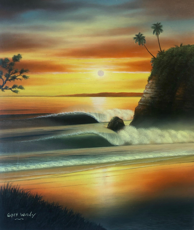 Dreamland Wave Art F10(百貨店催事出品予定商品)