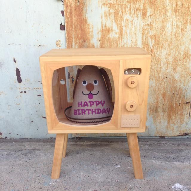 76ポーター 木製テレビジョン。