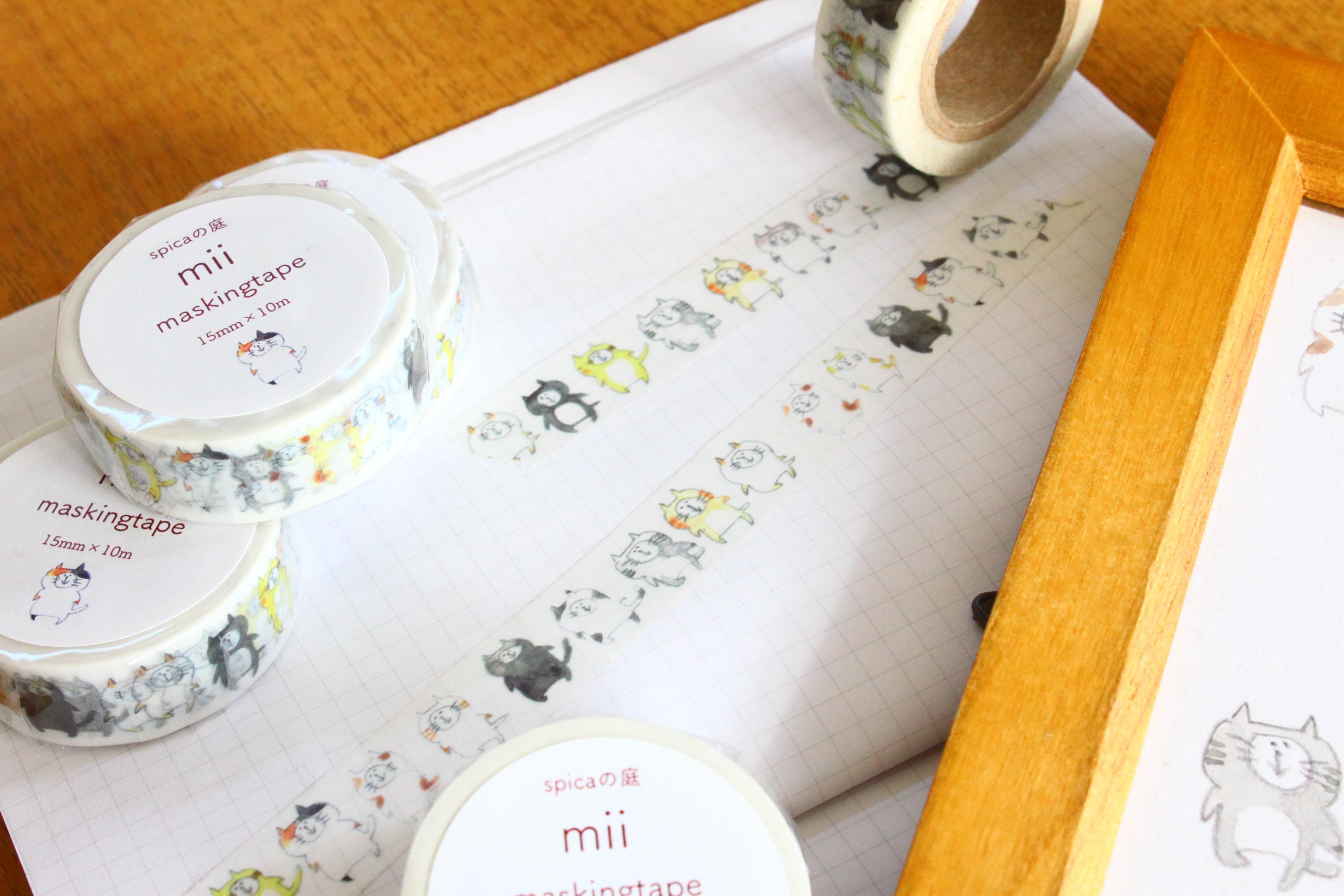 miiちゃん マスキングテープ