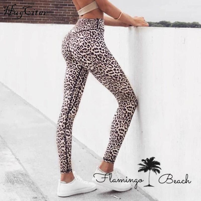 【FlamingoBeach】leopard leggings