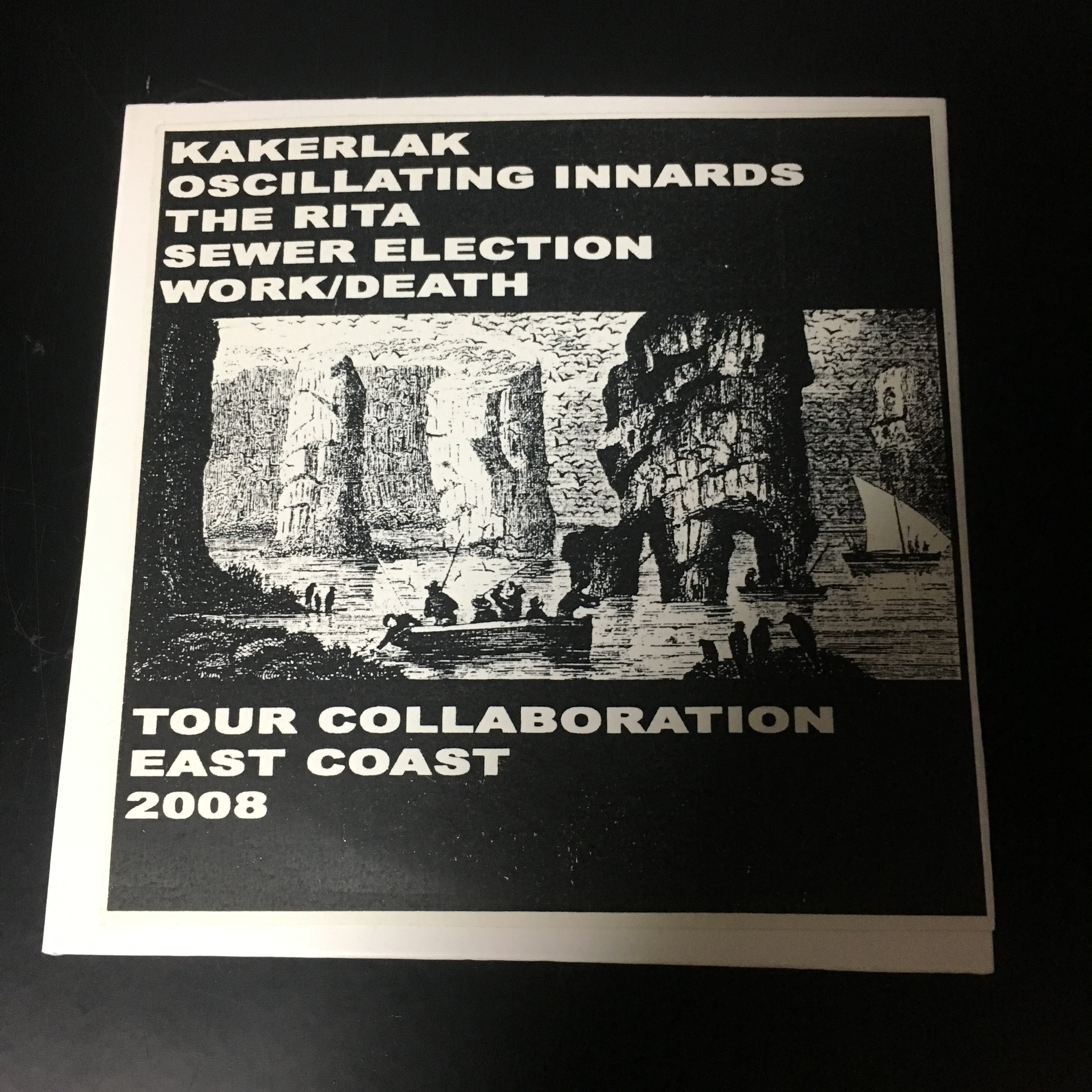 Kakerlak / Oscillating Innards / The Rita / Sewer Election / Work/Death ‎– Tour Collaboration East Coast(CDR)USED