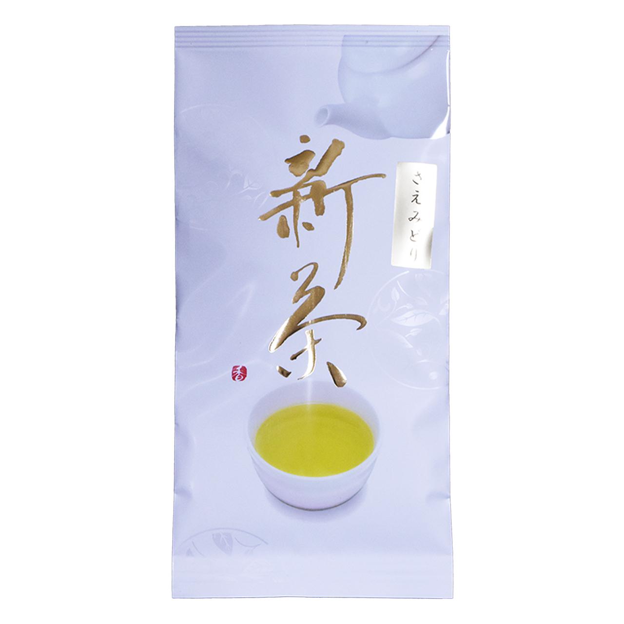 新茶 お茶 緑茶 お茶の葉 さえみどり 100g 1袋 鹿児島 小牧緑峰園
