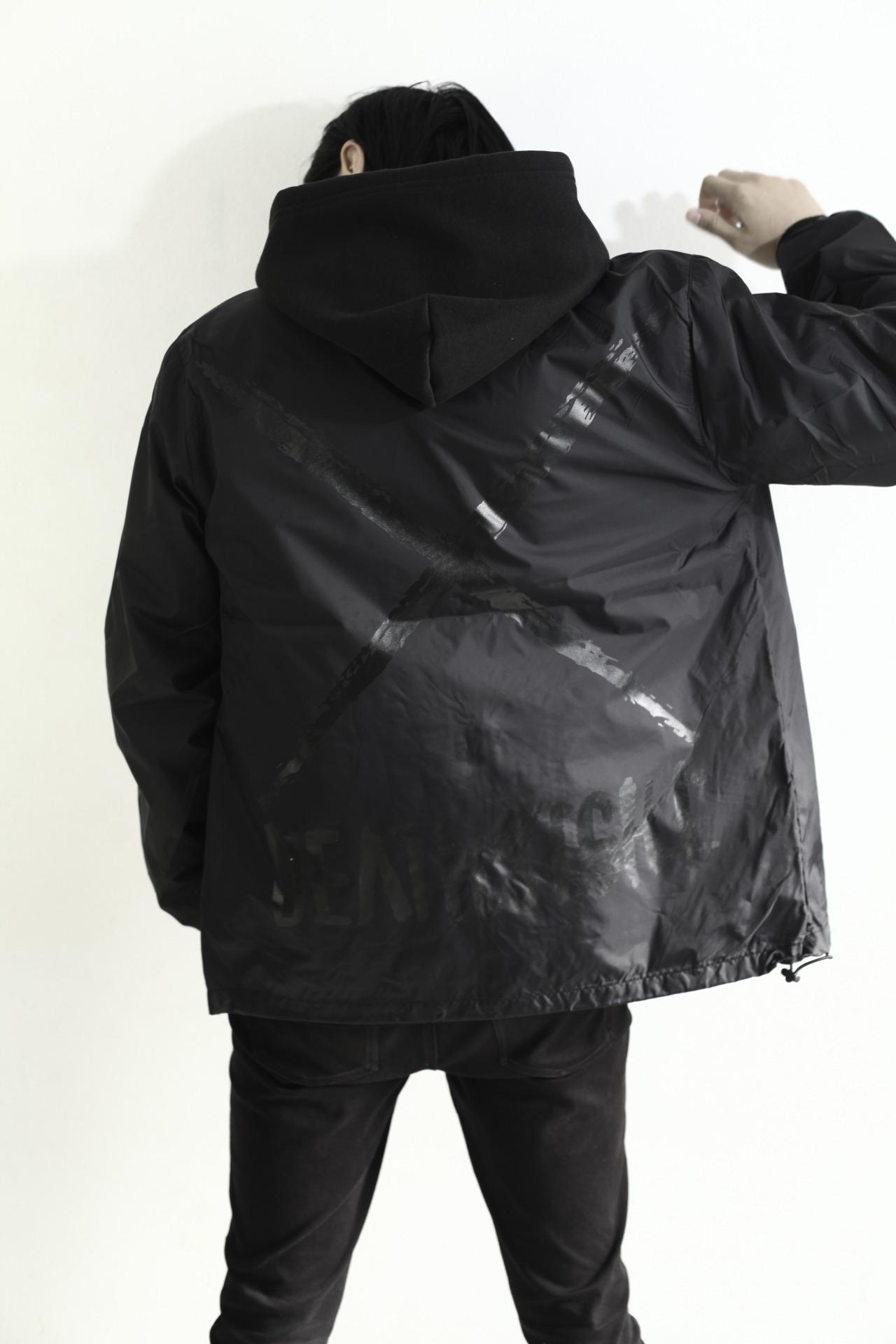 """deathsight"" C JKT / BLACK x BLACK - 画像4"