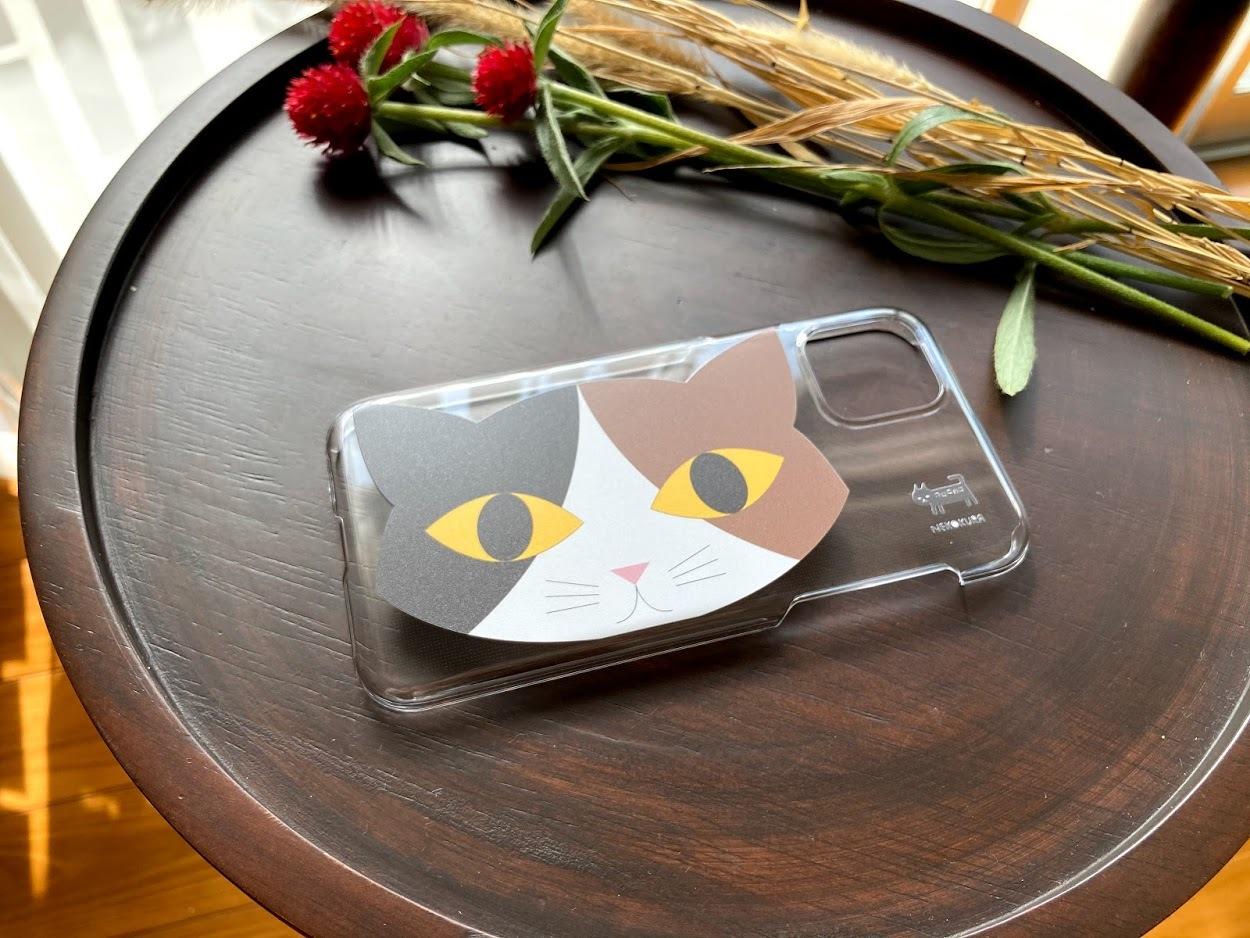三毛猫 iPhone11 Pro用ハードケース・クリア