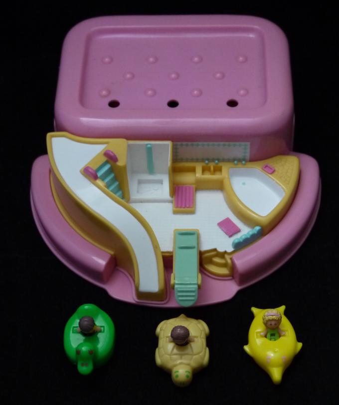 ポーリーポケット バスタイムソープディッシュ 1990年完品