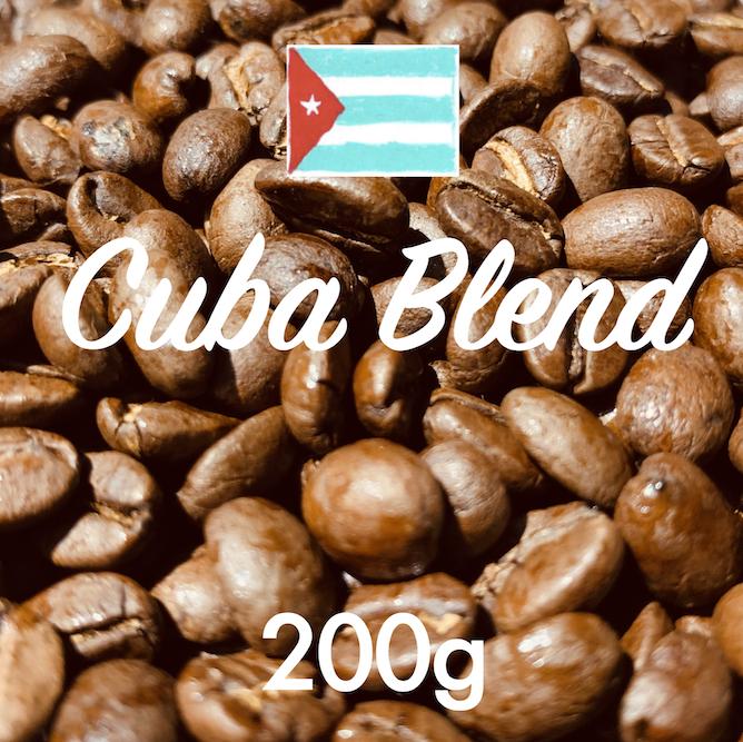 自家焙煎コーヒー豆「キューバ・ブレンド」 200g