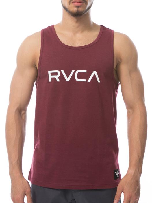 RVCA ルーカ メンズ VA SPORT メンズ BIG VA SPORT TANK タンクトップ 通気性 スポーツ サーフ サーフィン スケート 夏 海 サイズL