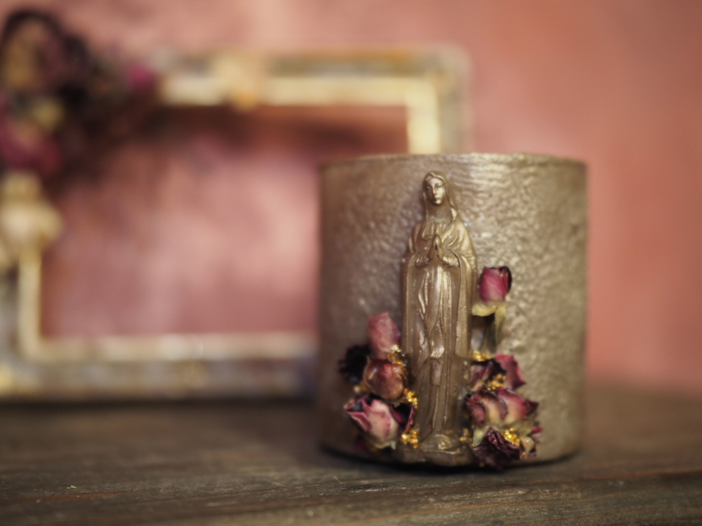 Vintage Maria Candle 5