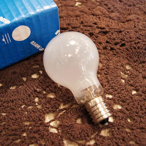 白熱電球 E17 100W クリプトン球フロスト