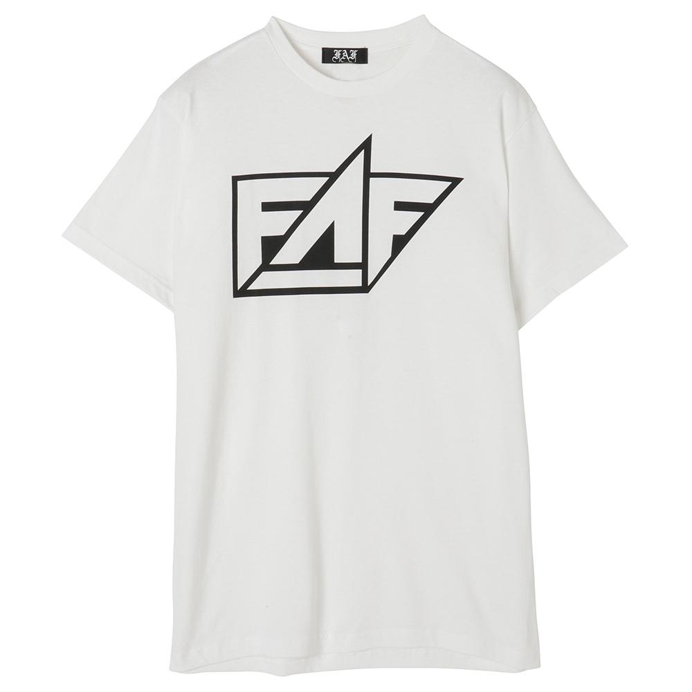 FAF Logo Tee - White - 画像1