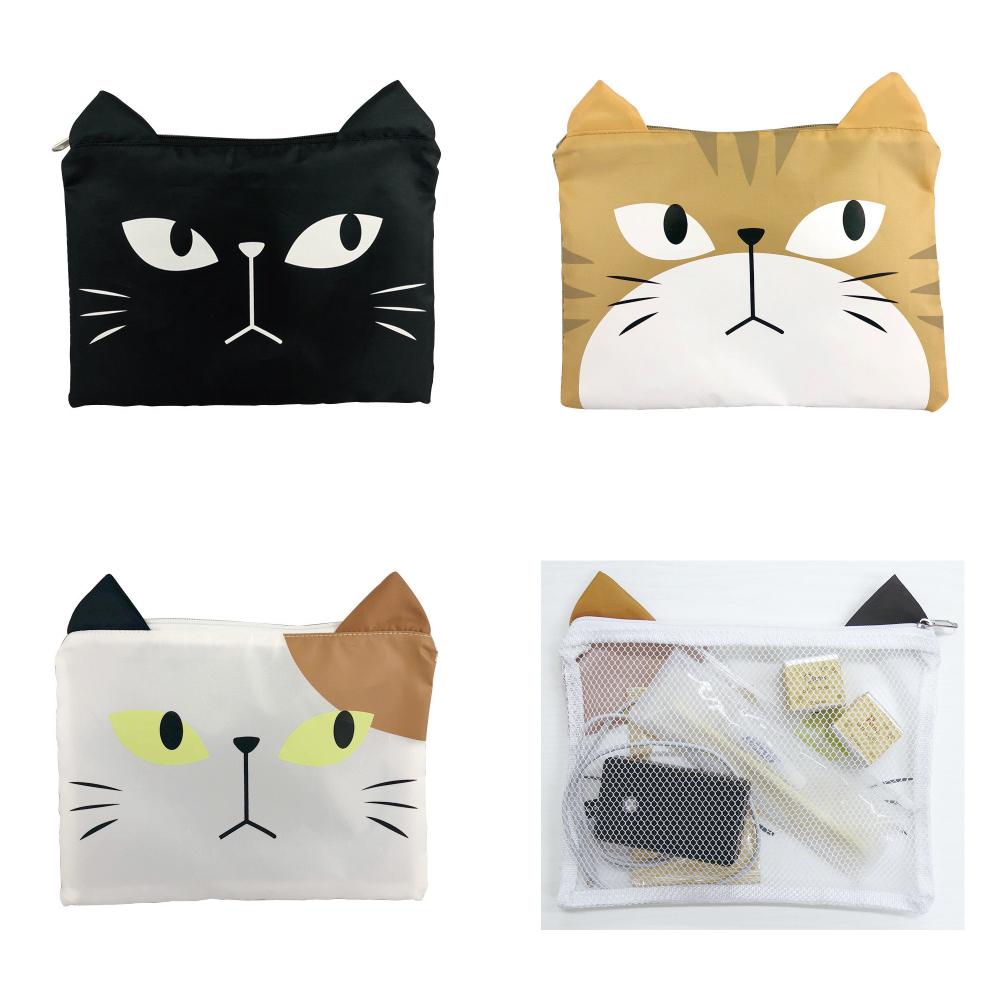 猫ポーチ(収納ポーチS)全3種類