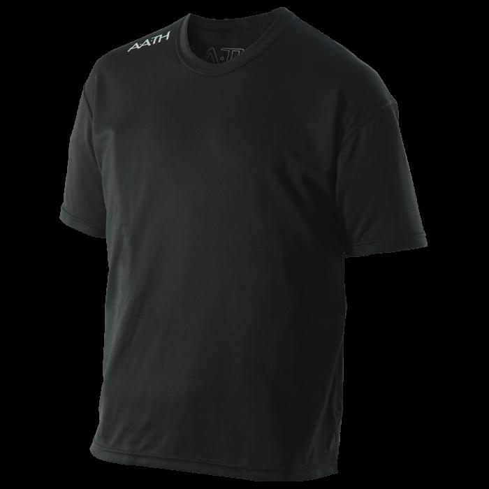 【オンヨネ AATH】ONYONE オンヨネ HALF T-SHIRT  ハーフTシャツ AAJ99301 ブラック(009)