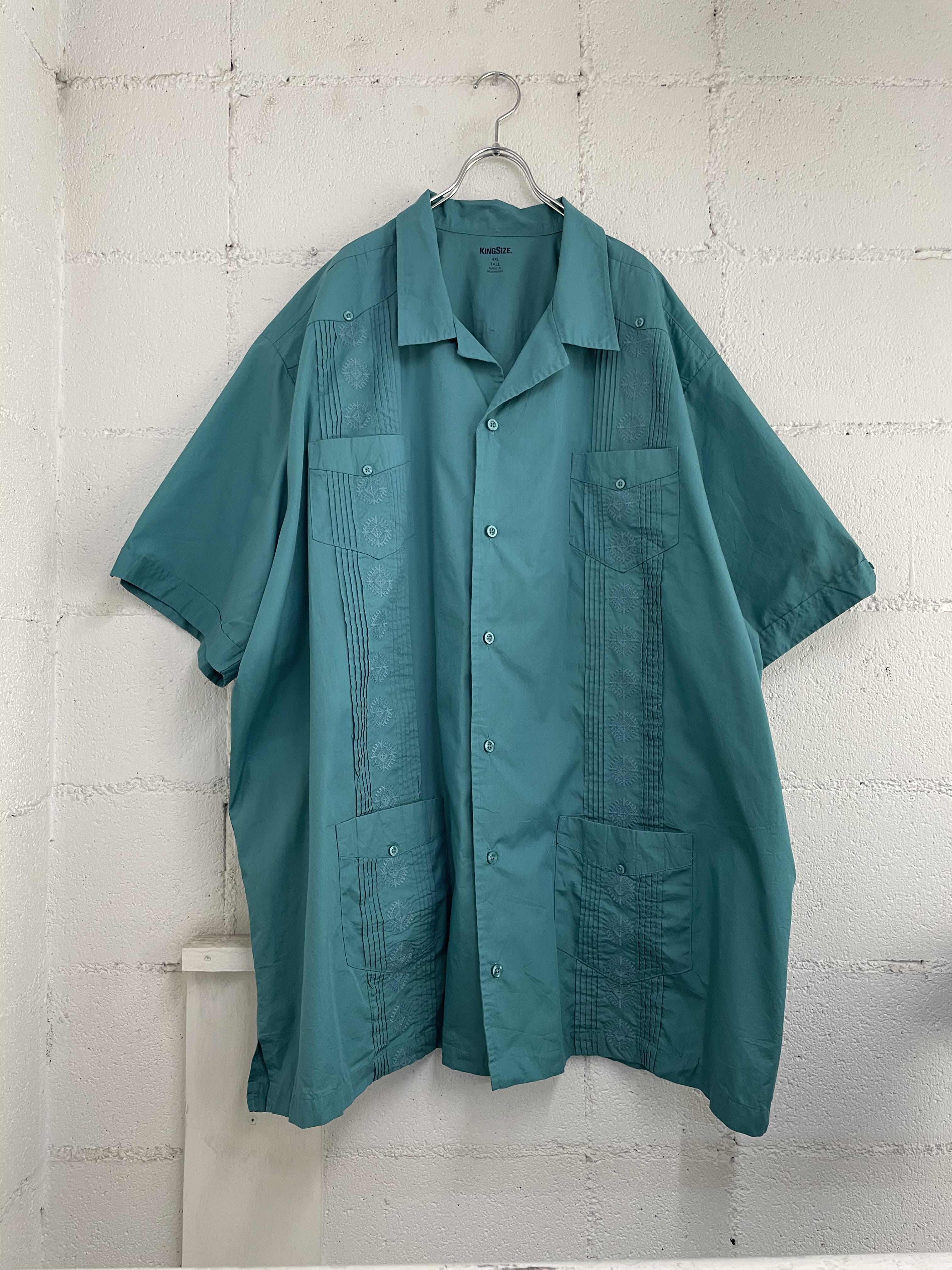 【USED】オーバーサイズキューバシャツ