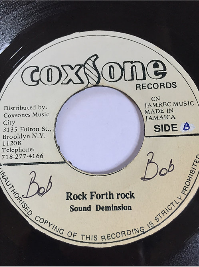 Sound Dimension(サウンドディメンション) - Rock Fort Rock【7'】