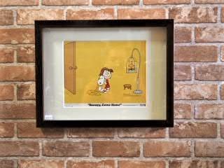 品番0977-1 スヌーピー 原画ポスター(1972年) タイトル画番号あり