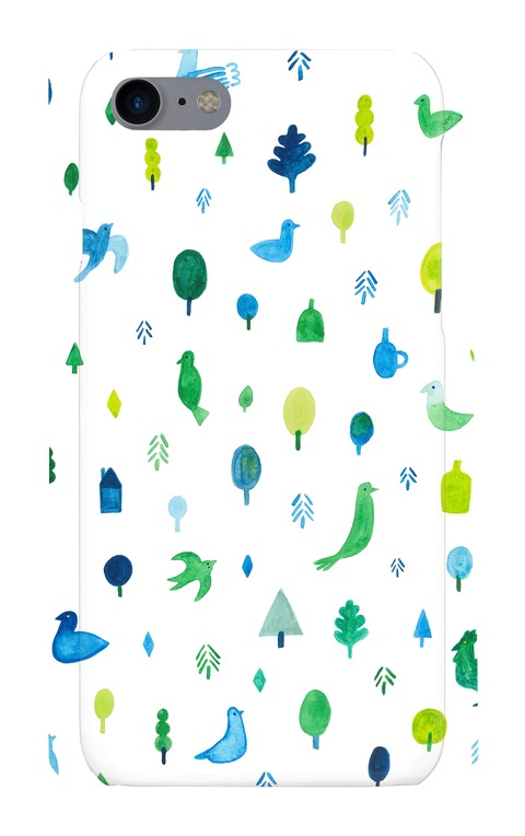 【iPhone7ケース】BIRD FOREST