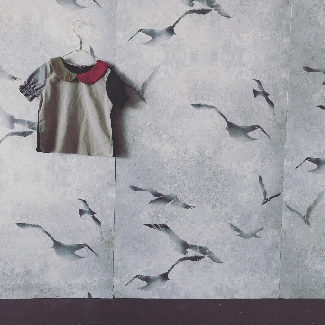 【受注販売】こども丸襟paletteブラウス&シャツ