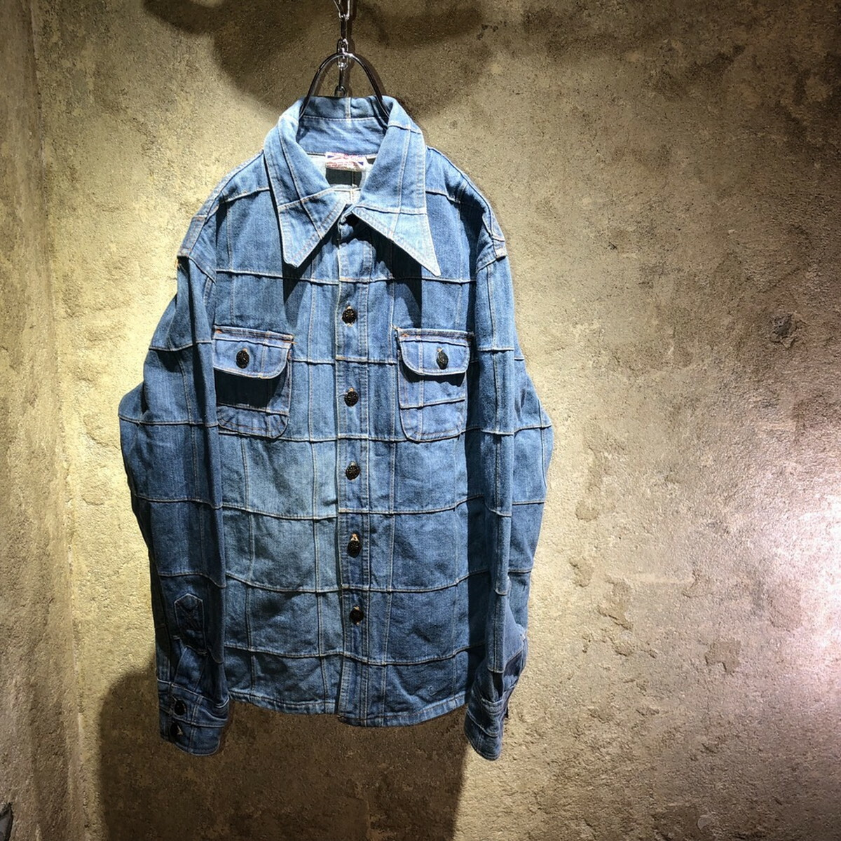〜90's patchwork denim jacket