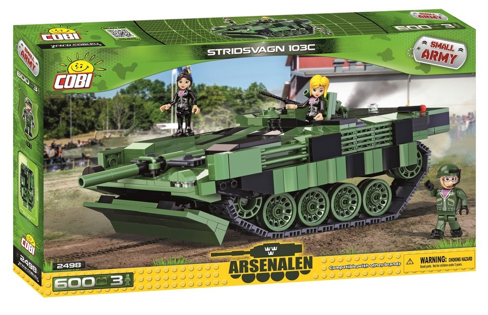 COBI #2498 ストリッツヴァグン (S-Tank)