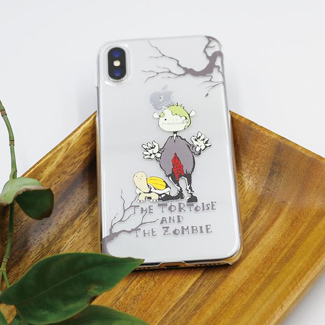 ゾンビとカメ スマホケース(iPhone用)