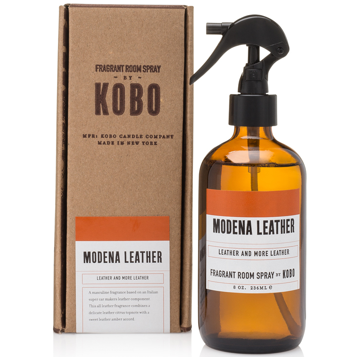 MODENA LEATHER - WOODBLOCK ROOM SPRAYS