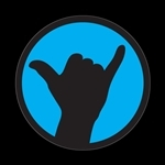ゴーバッジ(ドーム)(CD0751 - SHAKA BLUE) - 画像1