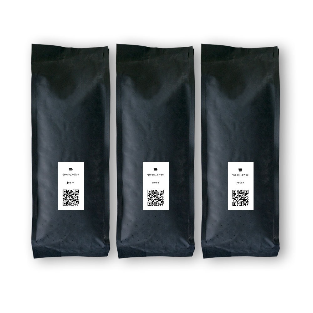 【送料込 ¥ 1,600】お試しセット|コーヒー豆・粉|100gx3 - 画像1
