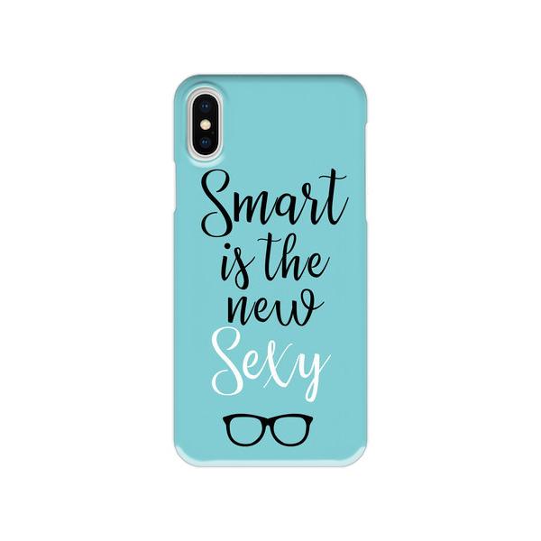 メッセージスマホケース【Smart is the new Sexy】