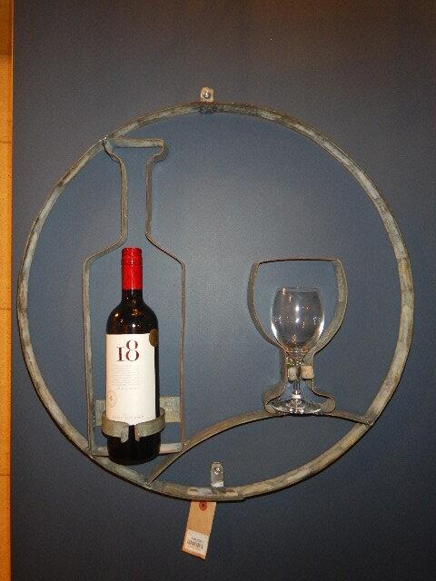 品番4971 ボトルとワイングラス / Bottle & wine glass 011