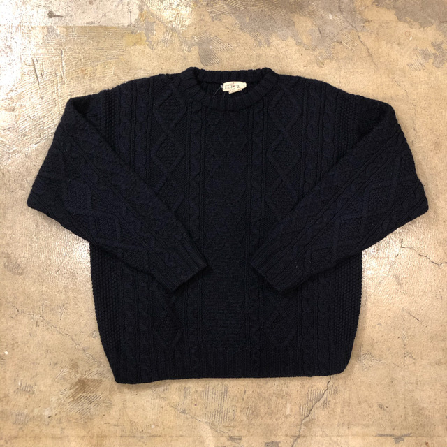 J.crew Cable Sweater ¥7,700+tax