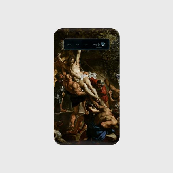 ルーベンス「キリスト昇架」 モバイルバッテリー