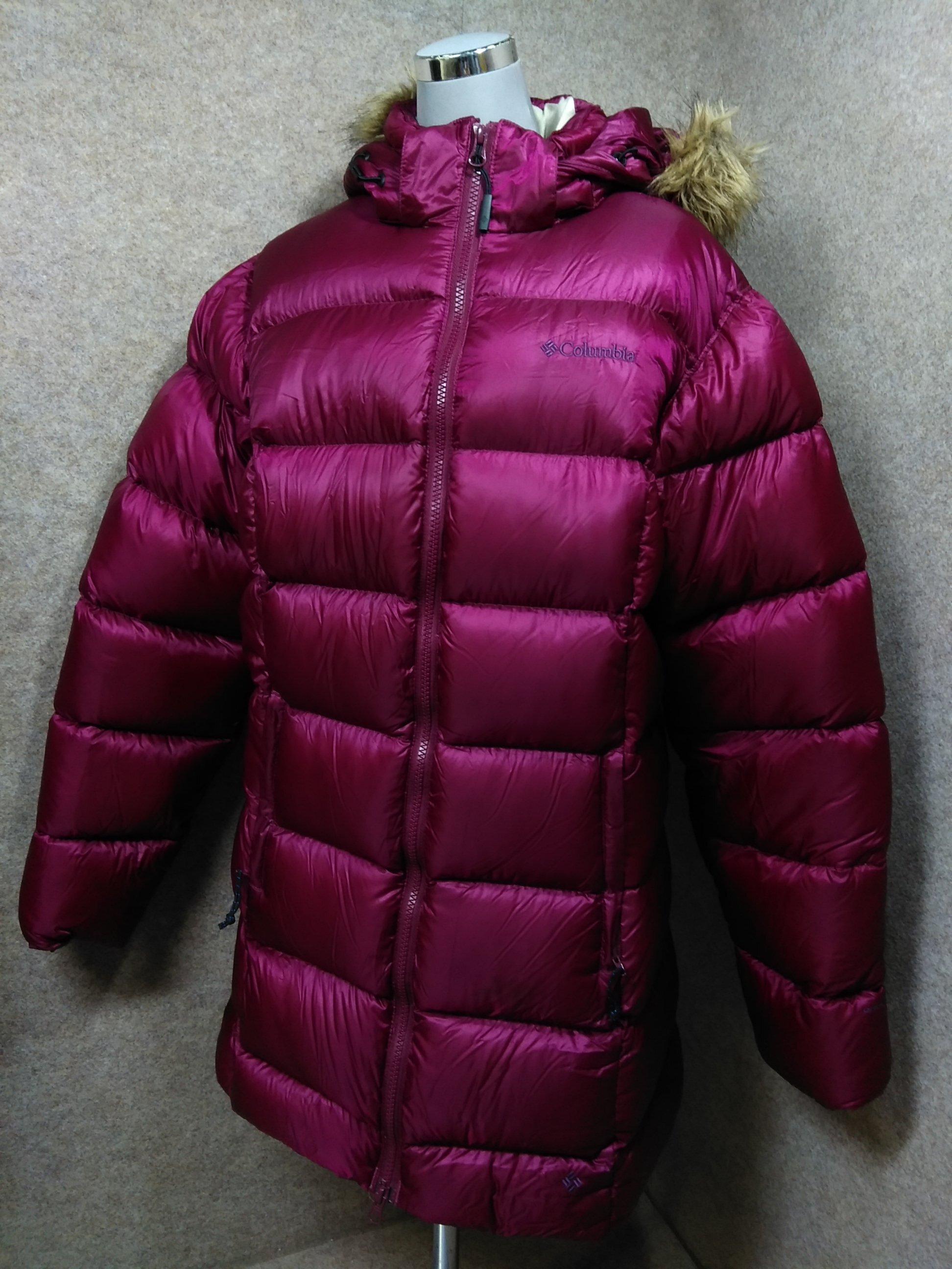 コロンビア Columbia ダウンジャケット L 赤紫 u1502i