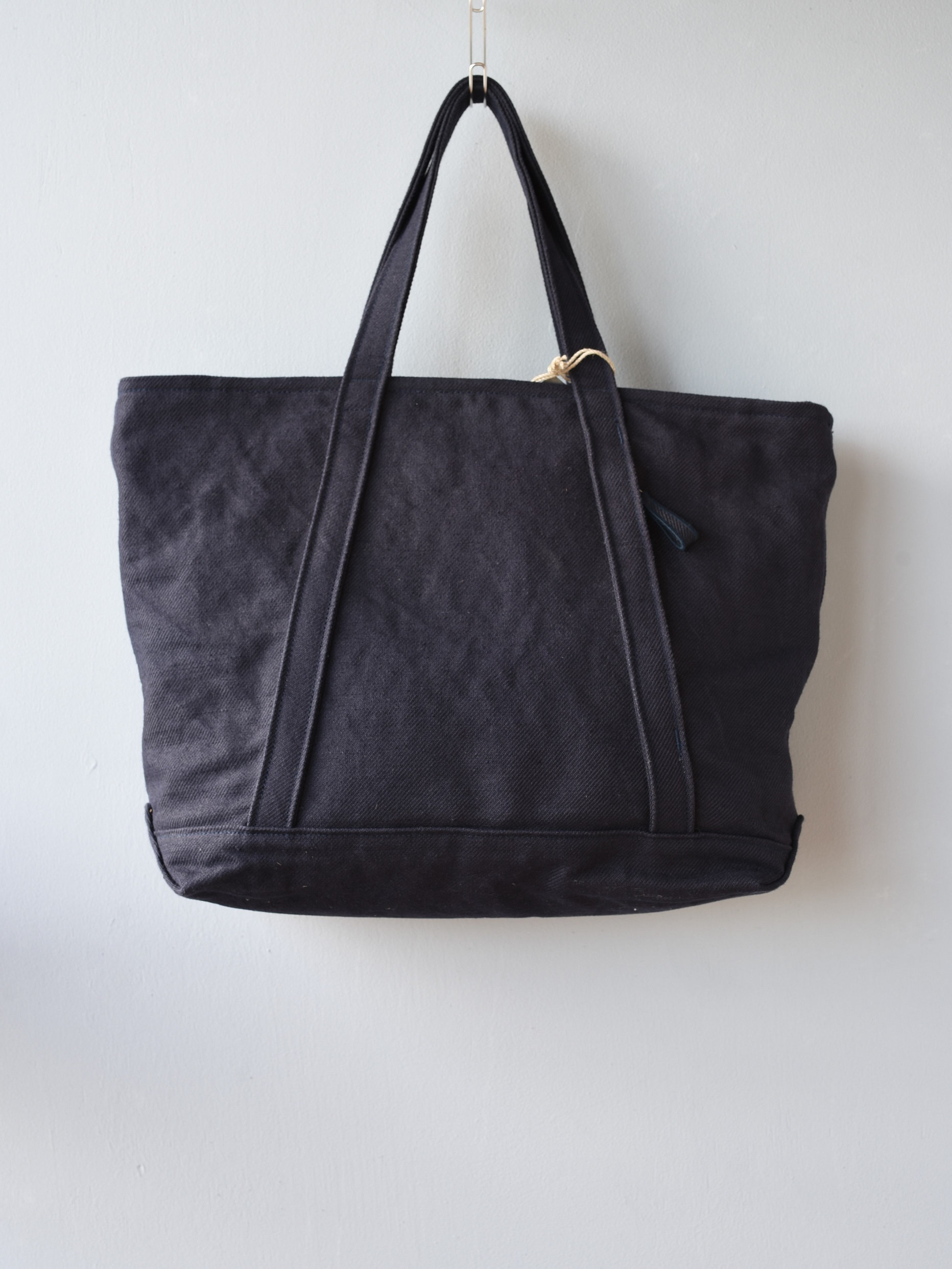 STUFF basic tote / navy