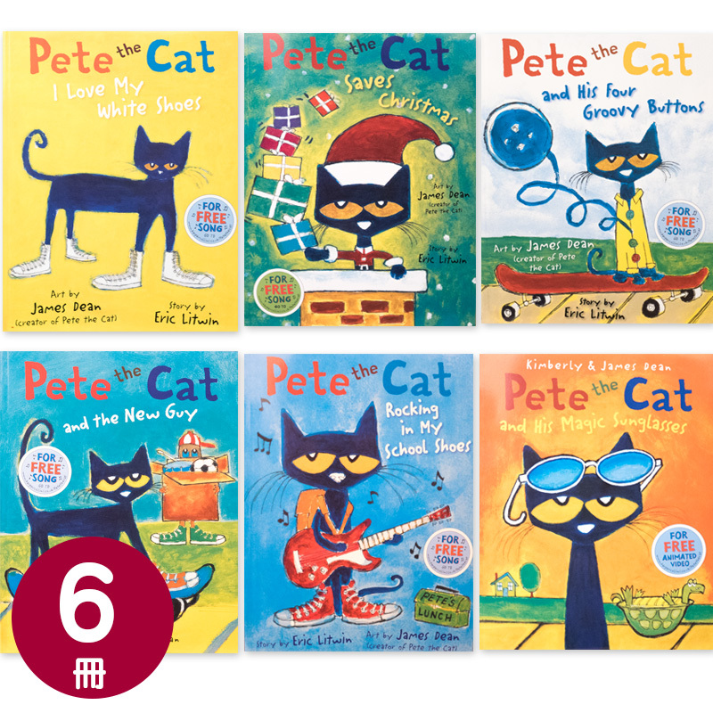 「Pete the cat」絵本6冊セット