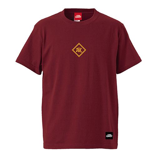 蹴Tシャツ 半袖 / バーガンディ | SINE METU - シネメトゥ