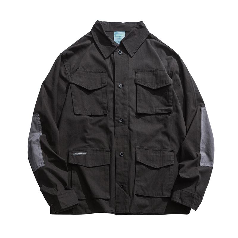【MEN'S】マルチポケット シャツ ジャケット【2colors】